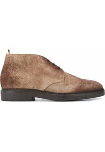Doucal'S Suede Ankle Boots - Marrom