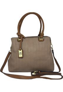 Bolsa Feminina Importada Casual Sys Fashion 8541 Bege