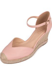 Anabela Trivalle Shoes Rosê
