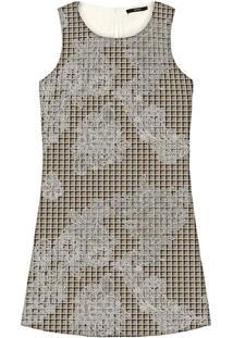 Vestido Tecido Estampado Haig - Lez A Lez