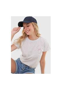 Camiseta Hang Loose Salt Water Cinza