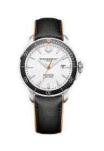 Relógio Baume & Mercier Masculino Couro Preto - M0A10337