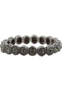 Bracelete Circle Prata Prata Prata