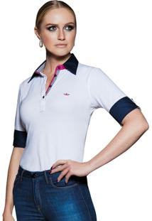 Camisa Polo Principessa Hemili - Feminino