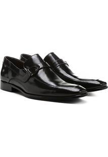 Sapato Social Shoestock Sola Couro - Masculino-Preto