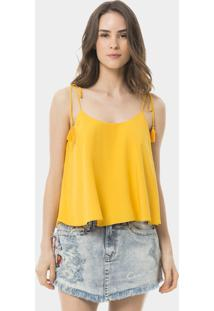 Blusa Com Alças Tassel Amarelo Tender - Lez A Lez