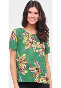 Camiseta Colcci Estampada Feminina - Feminino