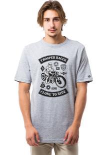 Camiseta Liv Geek Troop Rider Mescla