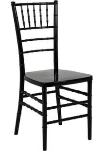 Cadeira De Jantar Tiffany Preta