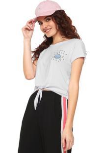 Camiseta Fiveblu Space Nó Branca