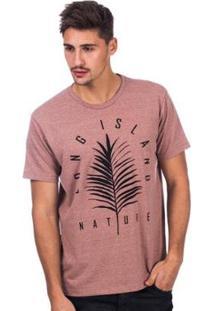 Camiseta Long Island Nature Masculina - Masculino
