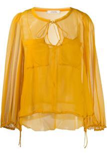 Dorothee Schumacher Blusa Com Bolso - Amarelo