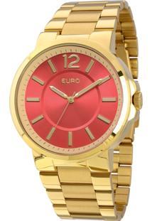 Relógio Euro Feminino Opole Eu2035Lxm/4R - Dourado