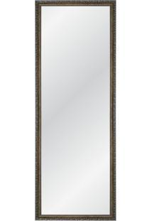 Espelho Decorativo Glam 135X55 Arabesco Prata