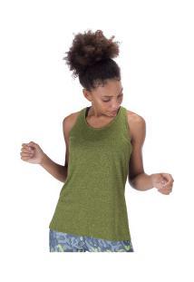 Camiseta Regata Oxer Campeão New Classic Ii - Feminina - Verde