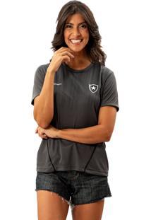 Camisa Braziline Km/H Dribble Botafogo Chumbo