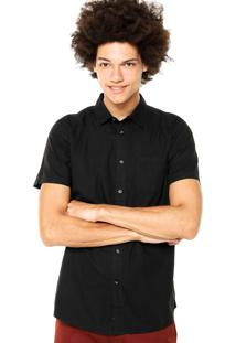Camisa Element Recruit Preta