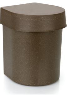 Lixeira De Pia 3,5 Litros Hide Eco Ou - Madeira - Multistock