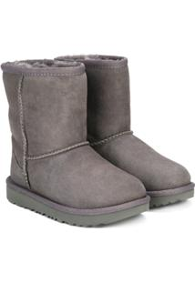 Ugg Australia Kids Ankle Boot Clássica - Grey