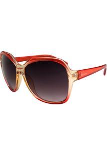 Óculos De Sol Dispar D1710-Vermelho