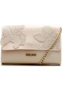 Bolsa Colcci Flores Off-White