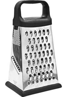 Ralador 4 Faces- Inox- 22,5X12X10Cm- Euro Homewaeuro Homeware