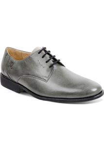 Sapato Em Couro Firenze 220230 - Masculino-Cinza