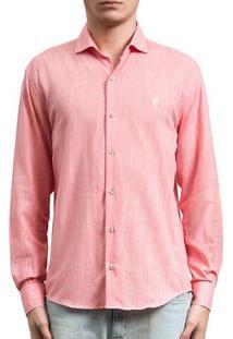 Camisa Salt 35G Rustica Masculina - Masculino-Laranja