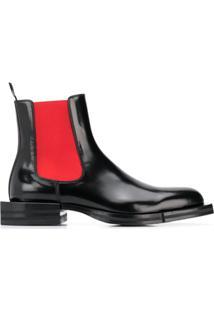Alexander Mcqueen Ankle Boot Chelsea - Preto