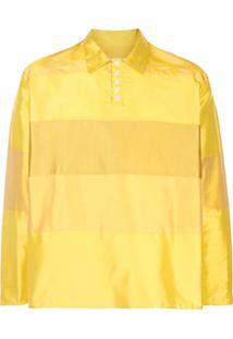 Camiel Fortgens Blusa Oversized Com Recortes - Amarelo