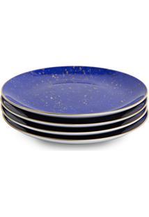 L'Objet Conjunto De Pratos Lapis - Azul