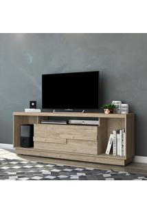 Rack Para Tv 1 Porta Bia 504022 Rustico - Madetec