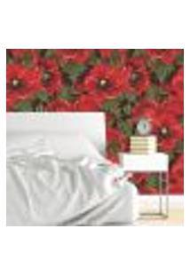 Papel De Parede Autocolante Rolo 0,58 X 3M - Floral 603
