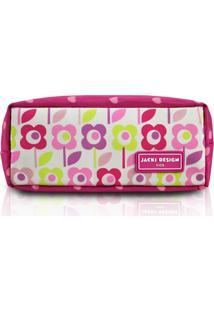 Estojo Infantil Flor Jacki Design Sapeka Pink