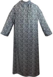 Cobertor Com Mangas Zc Zebra - Cobertor Com Mangas Zc Ebra - Zona Criativa