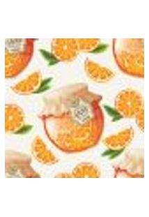 Papel De Parede Adesivo - Orange Jam - 031Ppc