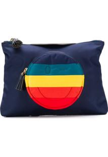 Anya Hindmarch Carteira Smiley - Azul