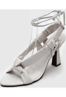 Sandália Dumond Amarração Branca