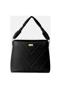 Bolsa Modare Shoulder Bag 70000.1 Preta Preto