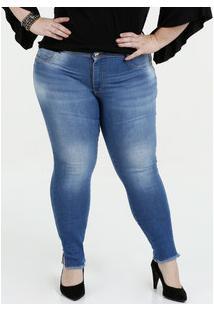14f3524b88 ... Calça Feminina Jeans Skinny Plus Size Sawary