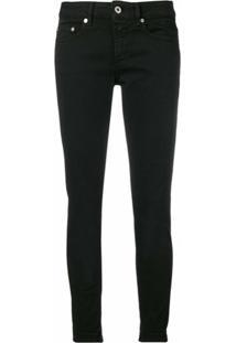 Dondup Classic Skinny-Fit Jeans - Preto