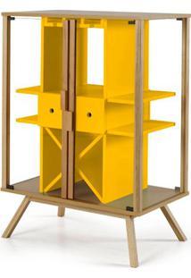 Cristaleira Mystic Cor Natural Com Amarelo - 28831 - Sun House