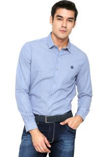 Camisa Timberland Refinedrion Azul