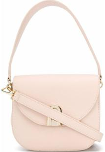 Furla Bolsa Transversal Sleek Mini - Neutro