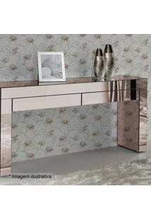 Aparador Alliance Liso- Espelhado & Bronze- 80X100X3Rg Móveis