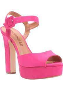 Sandália Meia Pata - Pink - Salto: 13Cmcecconello