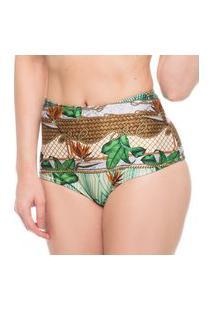 Calcinha Hot Pants Cestaria Localizado Ana Hickmann