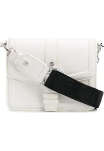 Versace Jeans Couture Bolsa Tiracolo Com Fivela Barroca - Branco