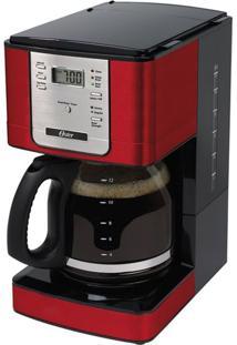 Cafeteira Digital 1,8L Programável 4401Rd Oster 220V