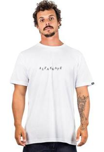 Camiseta Alfa Destructured - Masculino-Branco